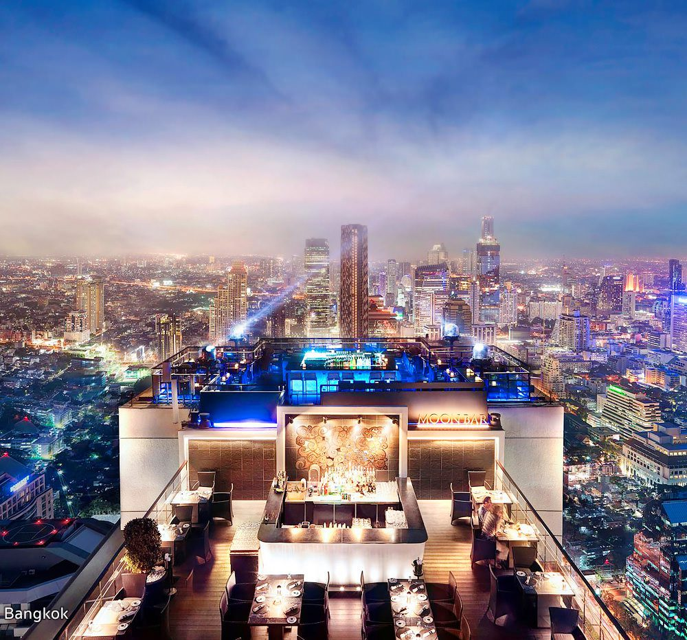 Vertigo Rooftop Bar in Bangkok